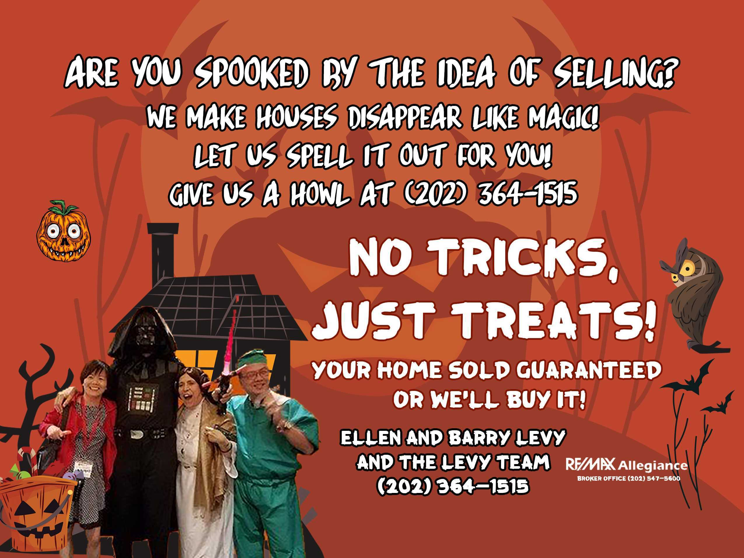 SPOOKY REAL ESTATE FACT ON HALLOWEEN